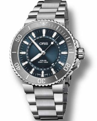 733 7730 4125-Set MB Ručni sat ORIS Aquis Source of Life Limited Edition